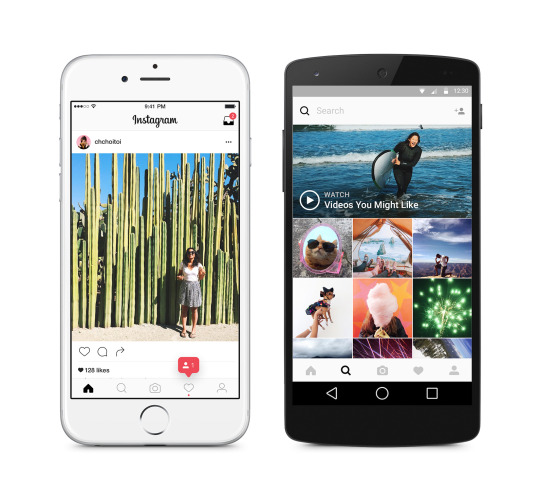 Instagram : Application mobile 2016