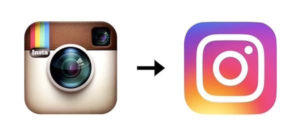 Instagram : Evolution du logo