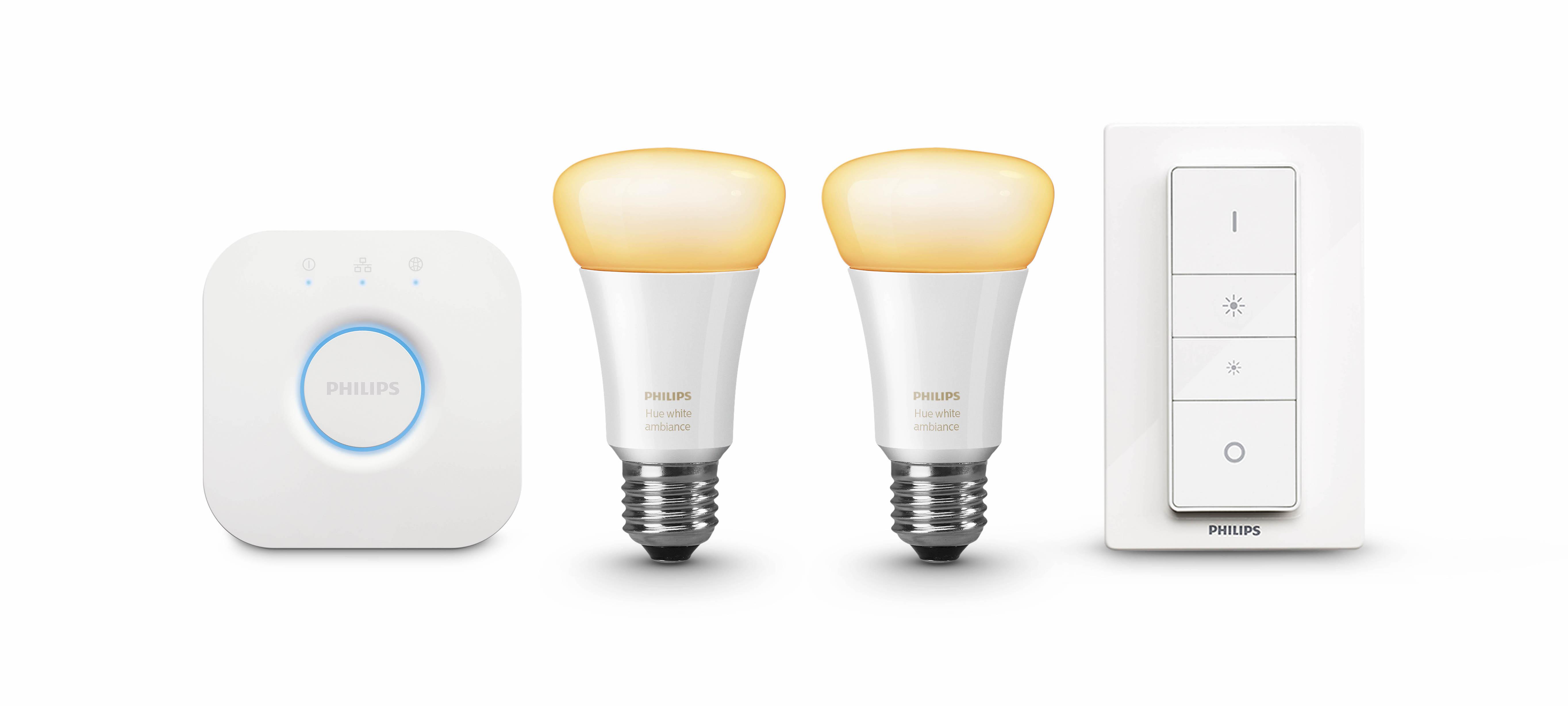philips hue disponibilit des ampoules connect es white. Black Bedroom Furniture Sets. Home Design Ideas