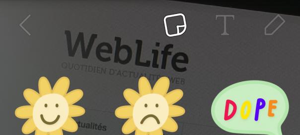 Snapchat dévoile les stickers pour enrichir les photos
