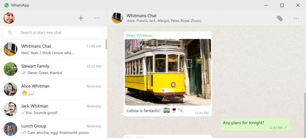 WhatsApp : Les applications Mac & Windows disponibles