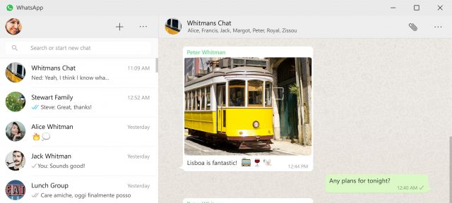 WhatsApp : Application desktop Mac & Windows