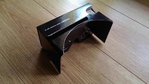 Cardboard Nescafé