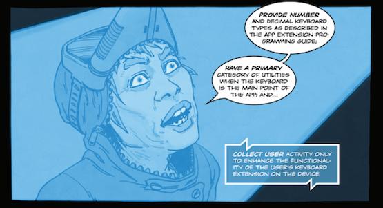 Comics guidelines iOS