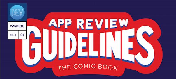 Guidelines Comics iOS