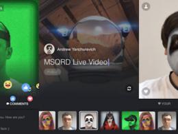 Facebook Live : Filtres MSQRD