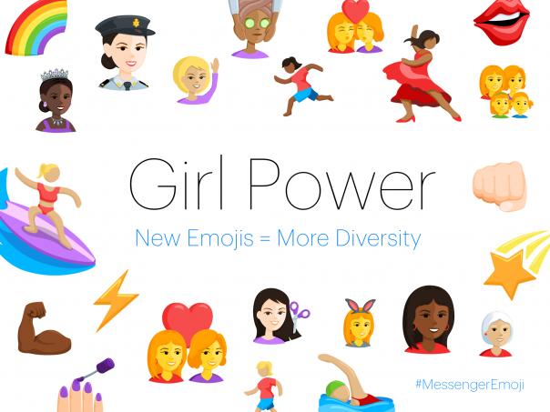 Facebook Messenger : Emojis femmes