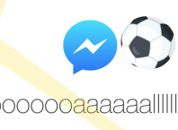 Facebook Messenger : Jeu de foot