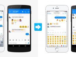 Facebook Messenger : Nouveaux emojis