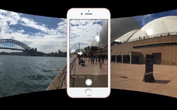 Facebook : Photo à 360 degrés - Prise de vue