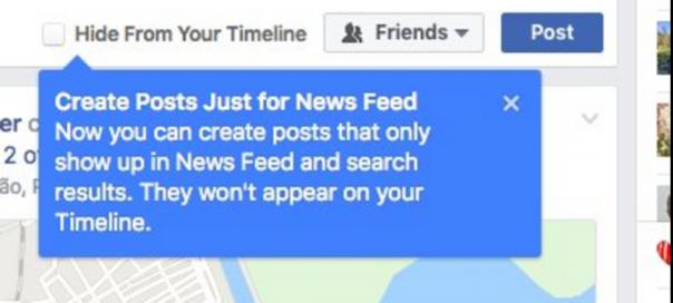 Facebook : Test des publications éphémères
