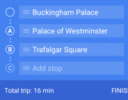 Google Maps déploie les itinéraires avec étapes sur Android