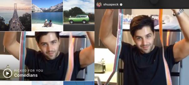 Instagram : Suggestion de vidéos basée sur vos goûts