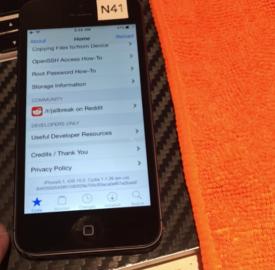 iOS 10 : Jailbreak untethered par iH8sn0w