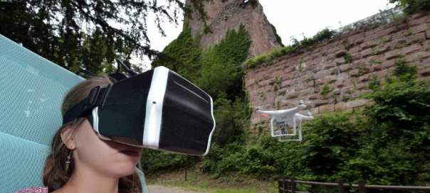 Drone : Visitez les châteaux d'Alsace vu du dessus en live