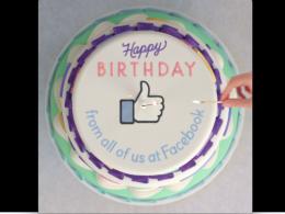 Facebook anniversaire video