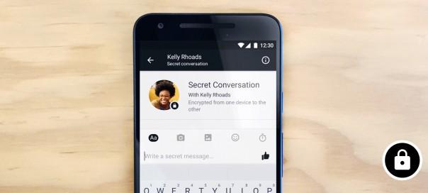 Facebook Messenger dévoile les conversations secrètes chiffrées