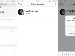 Facebook Messenger : Multicompte sur iOS