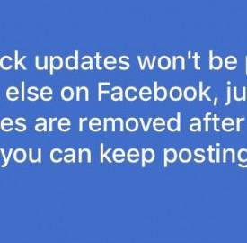 Facebook teste les Quick Updates à la Snapchat