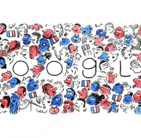 Google : 14 juillet – Fête nationale de la France 2016