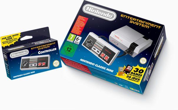 Nintendo NES Classic Mini - Boîte manette
