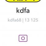 Snapchat : Suggestion