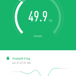 Balance connectée Xiaomi - Poids