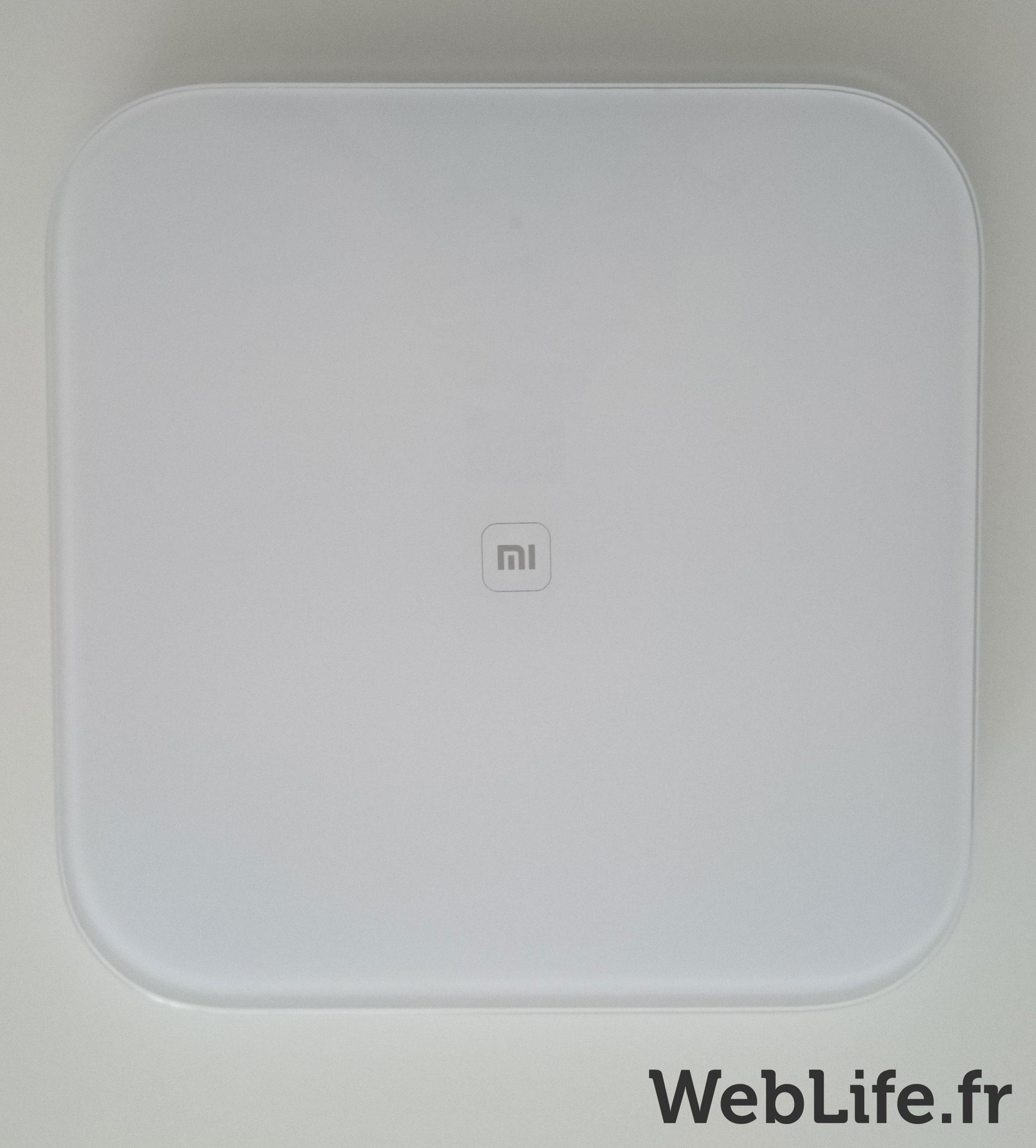 Balance connectée Xiaomi - Ecran