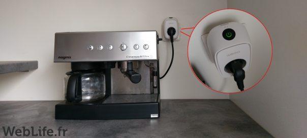 «La domotique pour tous» avec la prise connectée BELKIN WeMo Insight Switch