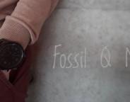 Fossil Q Nate : après les montres connectées, voici déjà les hybrides !