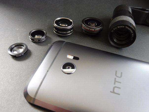 lentilles photos smartphone