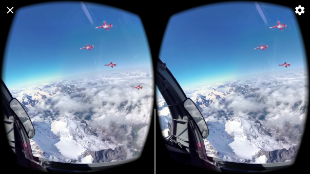 immersion avion de chasse VR