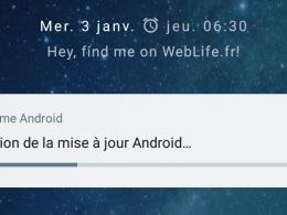 Android One : Android 8 Oreo - MAJ OTA