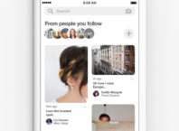 Pinterest : Following tab