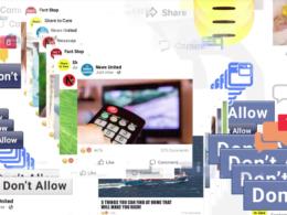 Facebook : Spam, clickbait & fake news