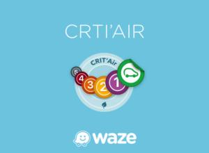 Waze : Crit'air