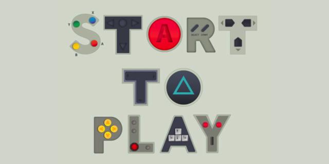 Logo Start To Play