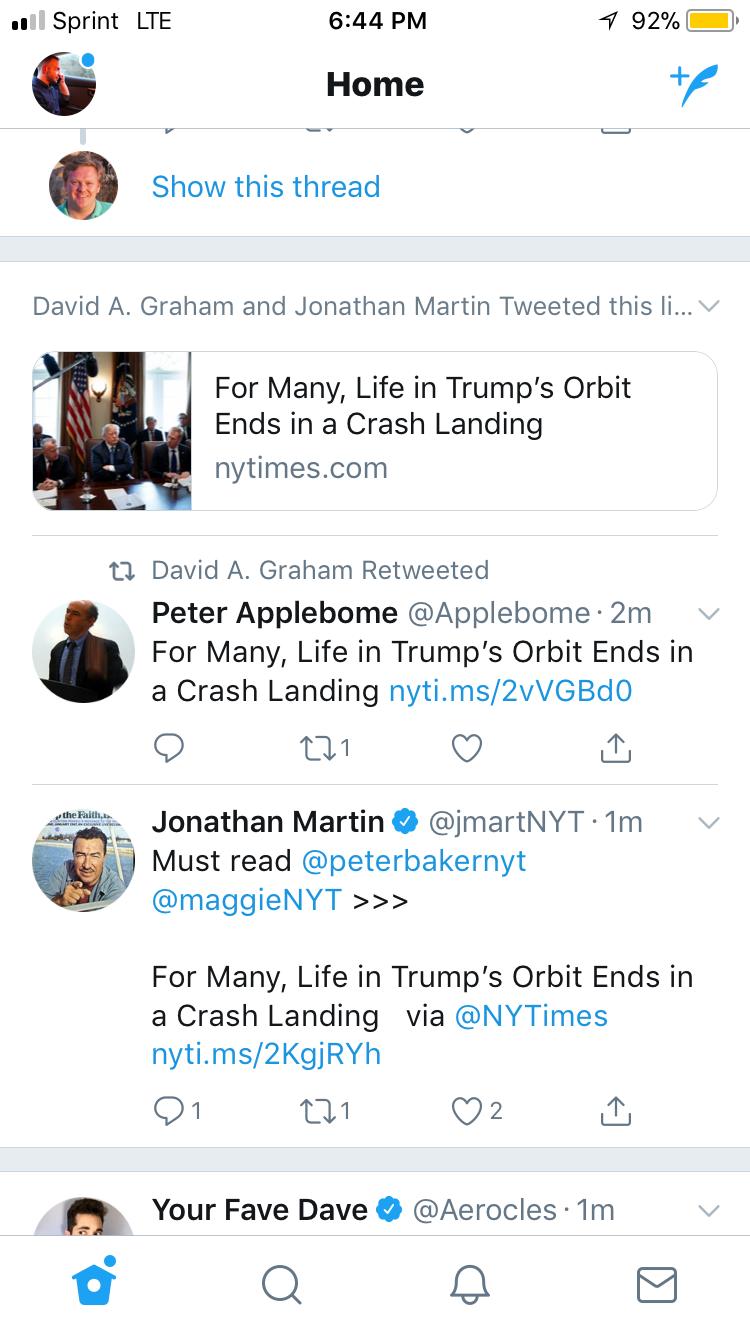 Twitter : Articles d'actualités