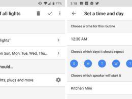 Google Home : Planification de routines personnalisées