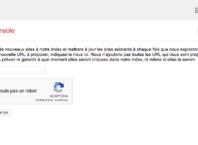 Google Search Console : Soumission de l'URL d'un nouveau site