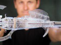 3Dvarius : Violon électrique - Impression 3D