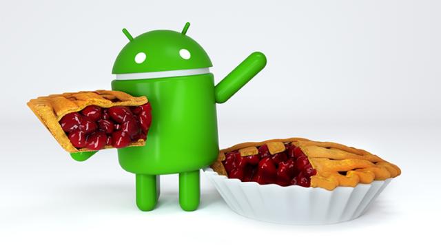 Logo Android 9 Pie