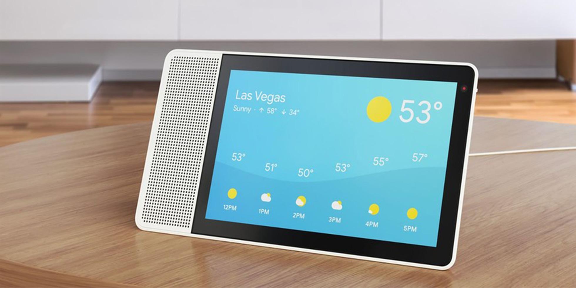 google un smart display maison pour cette ann e weblife. Black Bedroom Furniture Sets. Home Design Ideas