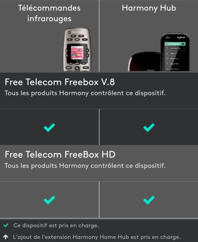 Logitech & Freebox V8