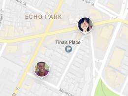 Google Maps : Partage de position