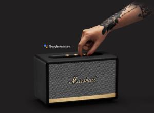 Marshall : Enceinte connectée avec Google Assistant