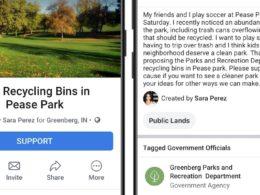 Facebook : Lancer une pétition