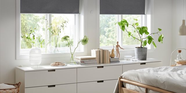 ikea lance ses stores enrouleurs connect s fyrtur kadrilj weblife. Black Bedroom Furniture Sets. Home Design Ideas