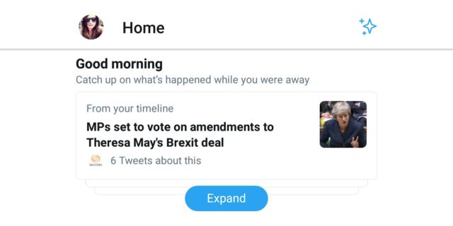 Twitter : Un «bonjour» avec les news à ne pas manquer