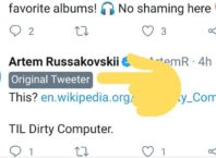 Twitter : Original Tweeter